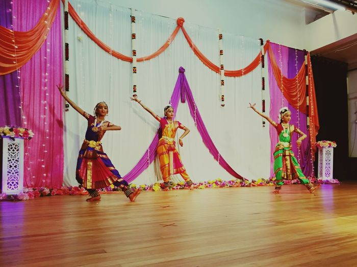 Classical Indian dance call BARATHAM