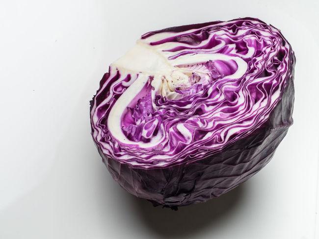 Red Cabbage Food Redcabbage Vegetables Still Life Stillife