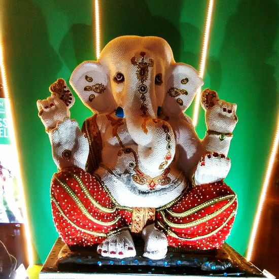Showcase: December LordGanesha Mallphotography Beautifulstatue NigHtvisit😊😊😊😊 Nightvision NoEditNoFilter