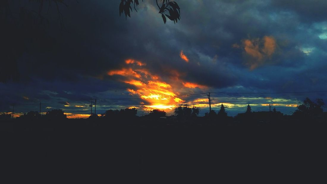Sunset Roseville, CA Clouds Storm