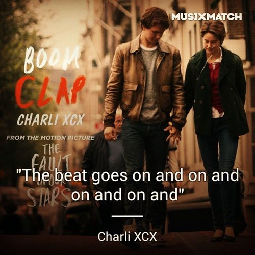 boom clap the beat goes on and on and on and on and on and on... Charlixcx Morningsong Happyday Happyworking