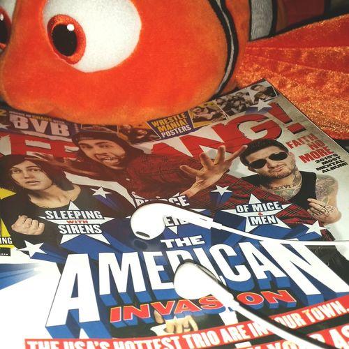 Hey my cutiess Austin Carlile Kerrang Kellin Quinn Vic Fuentes Nemo Relaxing