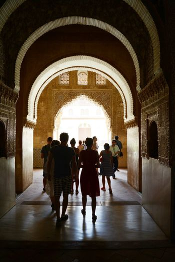 Streetphotography Street Colors SPAIN Al Hambra Mosque Architecture Interior People Lights Lights And Shadows Travel Granada Andalucía Andaluc Religion Tourist Tourist Attraction  Tourist Destination Spainish