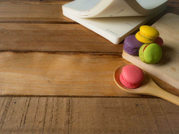 Colorful homemade macaroons staying on wooden over valentines day concept. Background Biscuit Color Colorful Cookie Day Dessert Food French Hipster Love Macaroon Mint Pastel Pink Retro Summer Sweet Vintage Wooden