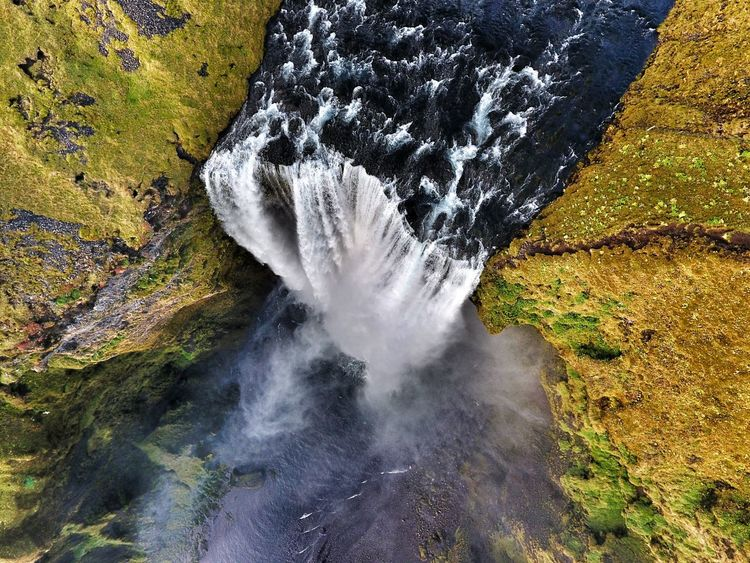 Iceland_collection Iceland Island Golden Circle Waterfall Nature Landscape Drone  Drone Photography Aerial Photography Bird's Eye View Tree Mother Nature Adventure Adventure Planning Travel Planning Travel Holiday Getaway  Trekking Holiday Extreme Holiday Europe New Destinations Brochure Cover