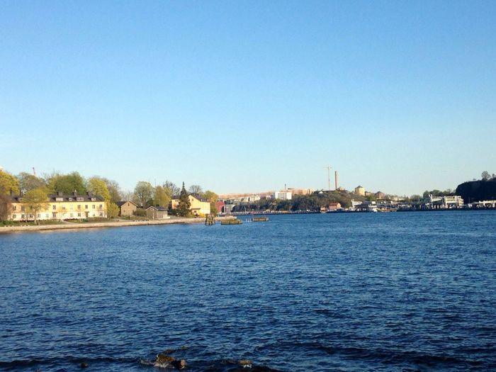 View from Skeppsholmen Stockholm Today!