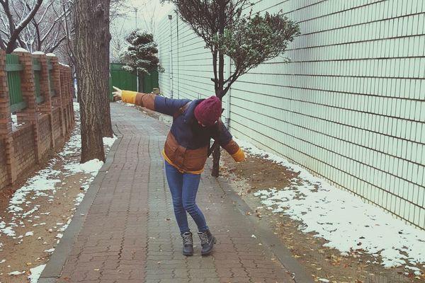 Southkorea Ansan Winter Hello World Dancing Ninja Livelovelaugh