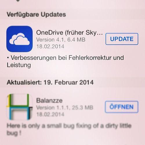 YEAH! Mein #OneDrive ist angekommen #iLike danke Microsoft_CH #App #iOS #Android #WindowsPhone Android Ilike Ios App Windowsphone Onedrive