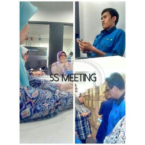 5S meeting. Meeting like a boss!