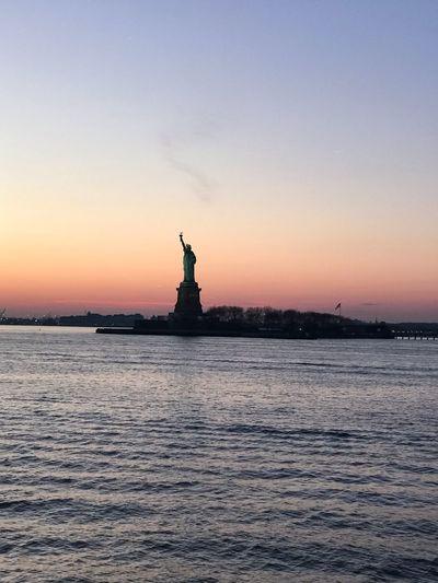 NY Sky Water