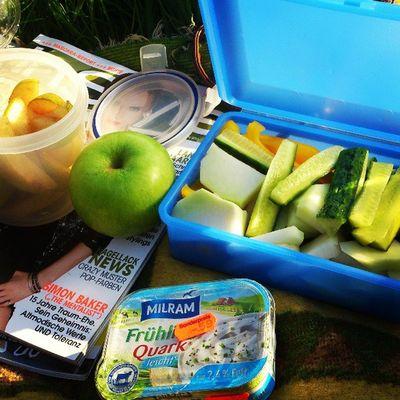 Picknik Mit Kimme Sun Shining Diggies Yammi Healty Summer Love Genießen Free Gemüse Lecker Gut