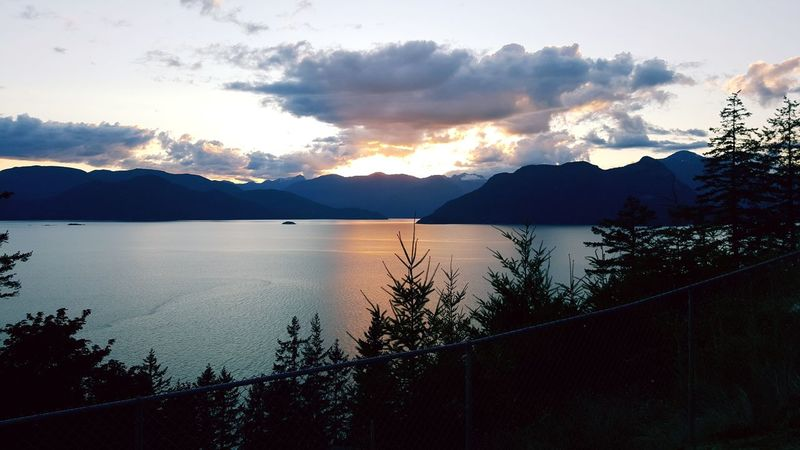 Sea To Sky Highway Vancouver Enjoying The Sights Horizon Over Water On A Hike Cloud - Sky Pacific Ocean Breathing Space
