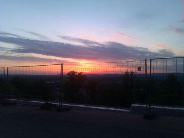 Sunset Fence Schlossberg Homburg