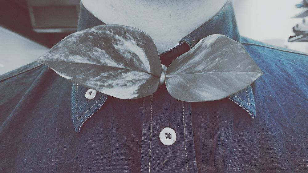 One Person Midsection Casual Clothing Close-up Real People People Pocket  Nature Indoors  In The Forest Day Tree Just Something Seeking Inspiration Mood Of The Day Different Perspective First Eyeem Photo Bow Tie Tuesday!!! Bowties   Bowtiesarecool Menswear Menstyle Mensfashion