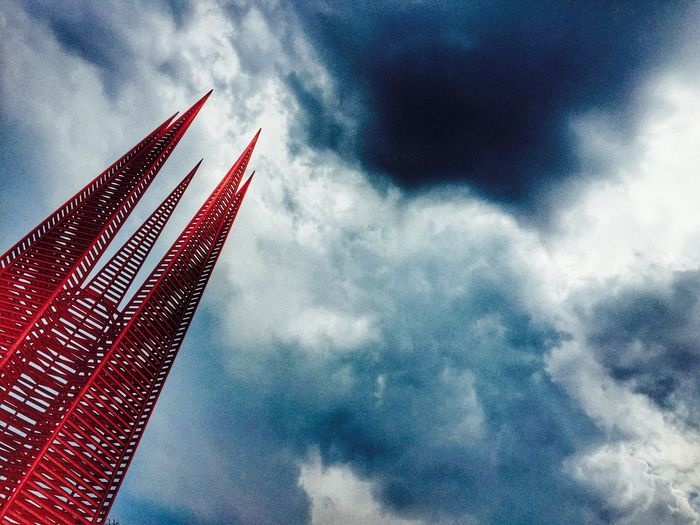 Sky Outdoors Escultura Mexico City Architecture Minimalist Architecture
