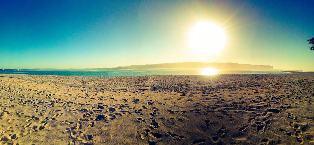 Sunnysunday - Sunset Beach Outdoors Landscape Sky Sun Nature Miles Away