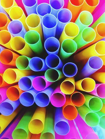 colorful plastic Multi Colored Spectrum Variation Backgrounds Science Close-up Colorful Palette Shape Circle