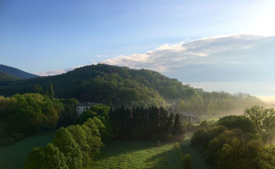 Galzignano Terme. Alba Galzignano Terme Colli Euganei Padova Veneto Veneto Italy Alba Foschia Sunshine Sunshine ☀