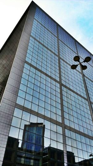 Architecture Reflection Streetphotography Urban Building HDR Perspectives La Grande Arche