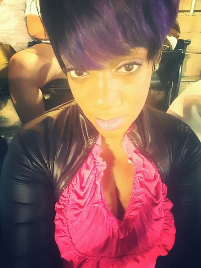 Purplehairdontcare Imissthiscut Lovethyself Thats Me  Cheese! Posing SeriousFace ❤ Selfiequeen