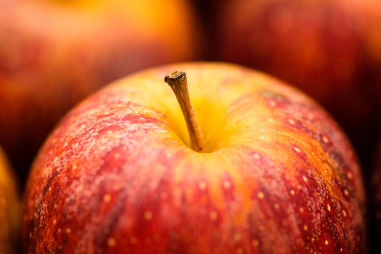 A red apple Fruit Red Color Nature No People Fruit Galaxy Red Apple - Fruit Close-up Sweet Food Apple Eaten Tasting