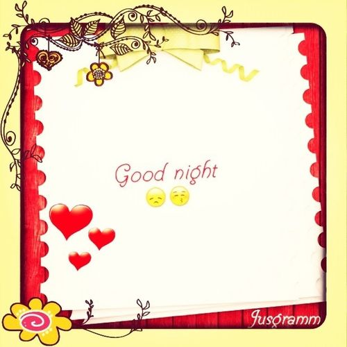 Good Night Every One