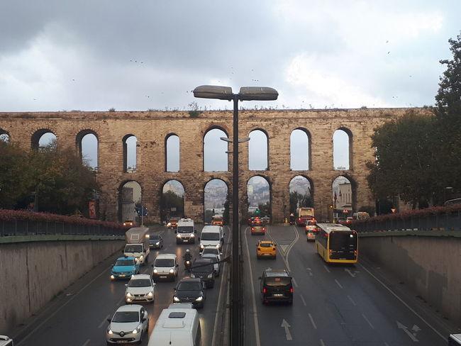 City Water Bridge - Man Made Structure Car Arch Sky Architecture Built Structure Cloud - Sky Travel