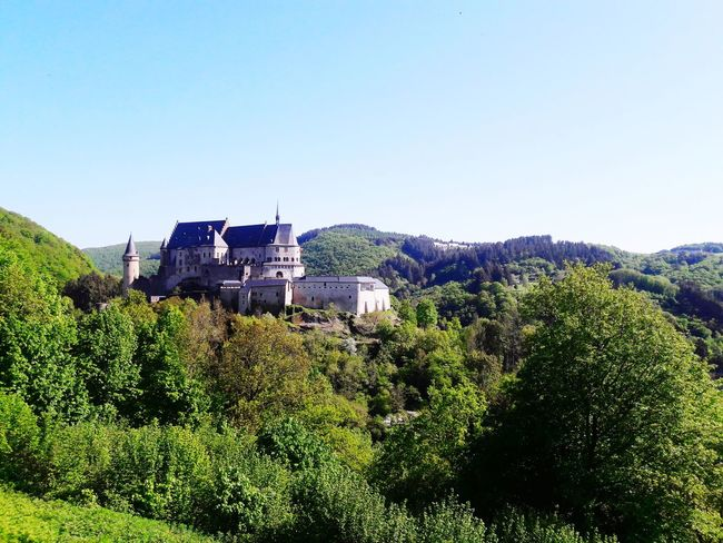 Luxembourg Countryside #luxembourg #topwallpaper #Wallpaper #castle  Clear Sky Rural Scene Agriculture Sky Tranquil Scene Countryside Non-urban Scene