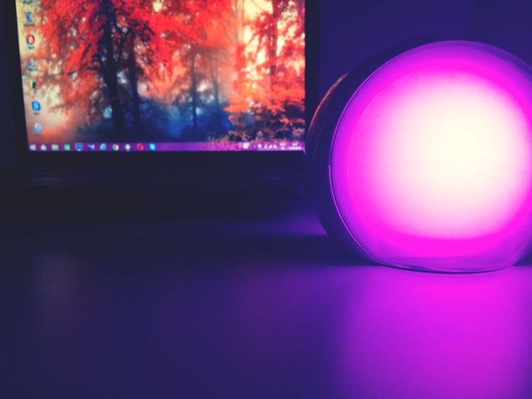 Internet Addiction Electric Light Pink Color Dark Focus On Foreground Photography Illuminated Love ♥ Ownphotos 👸🏻