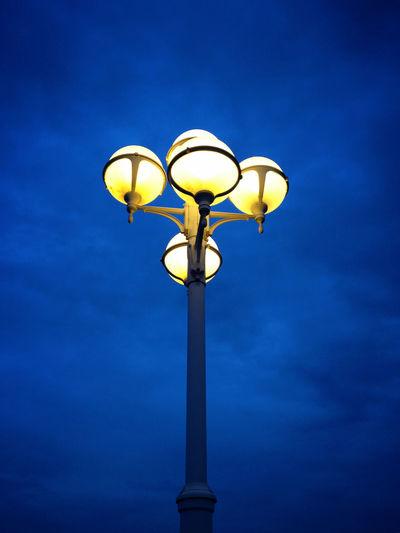 Evening Blue Light City