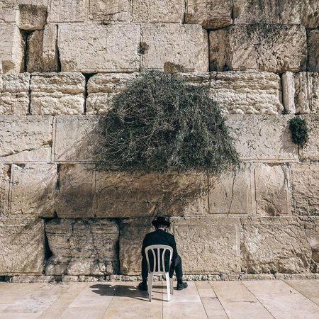 Alone Architecture Believe Building Exterior Built Structure Day Faith Israel Israeli Jerusalem Jerusalem Israel Jerusalemoftheday Jerusalem❤ Jewish Jewish Memorial Life Lifestyle Man No People Outdoors Pry Street Street Photography Streetphotography Tree The Street Photographer - 2018 EyeEm Awards