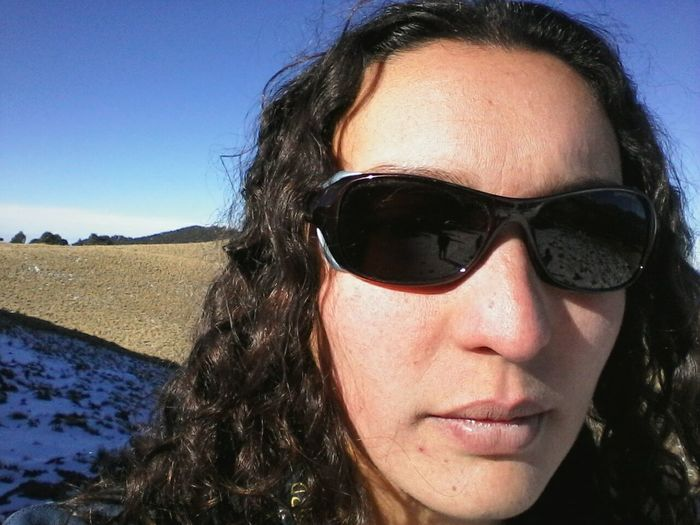 Adventure Club Selfie Cerros Montanas Iztaccihuatl Volcanes Mexico Lencereflection Girlspower
