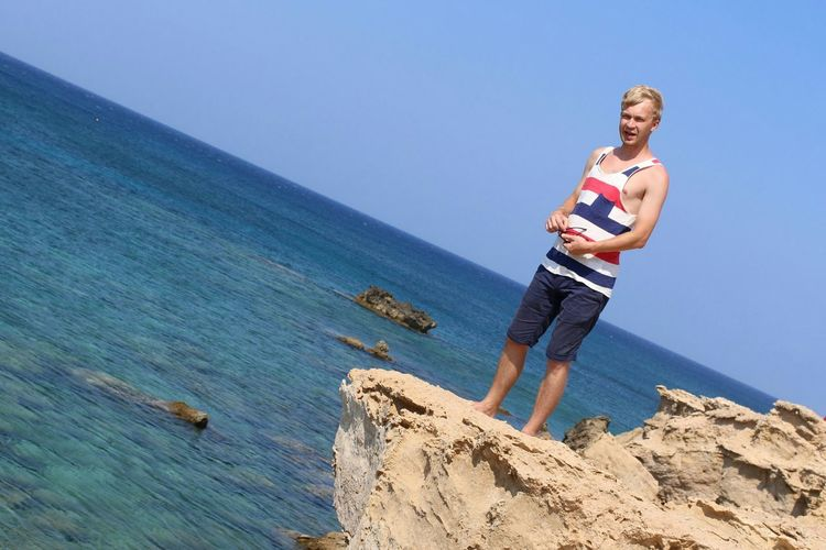 Sea Sky Traveling Cyprus Holiday Landscape Relaxing That's Me