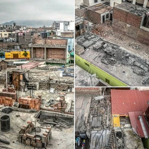 Lima, Peru. The only place I know where really looks like it got bombed at some point - only it never happened! Lima Ohtheplacesyoullgo
