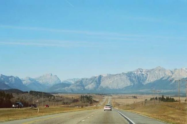 My_Photography Rocky Mountains British Columbia Roadtrip Blue Sky Travelling