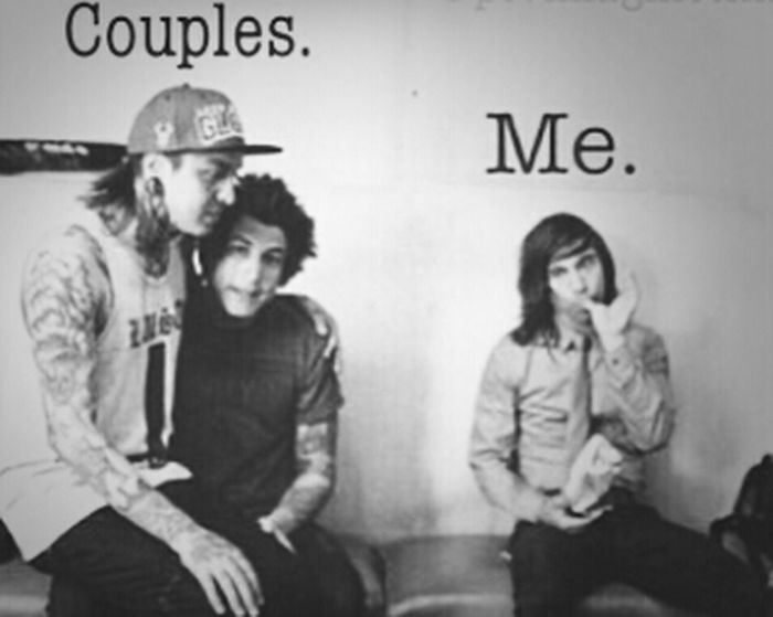 Couples That's Me Ptv Vic Fuentes this is so true its sad xD