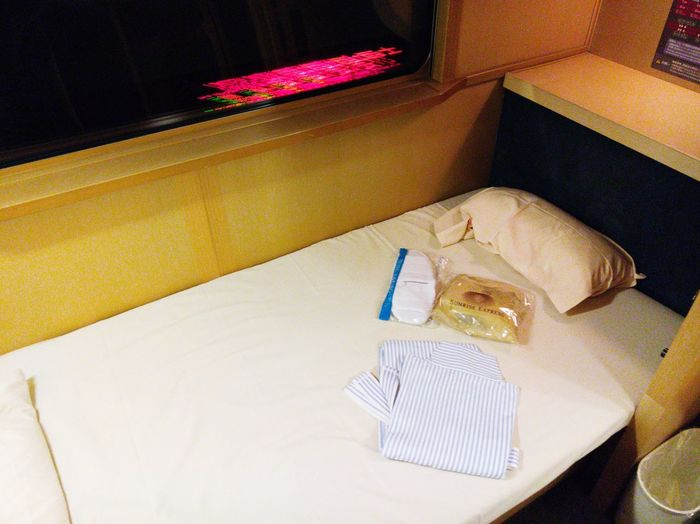 Sunrise Express Single Deluxe Room Sunrise Express Sleeping Car Izumo Train Single Deluxe First Eyeem Photo