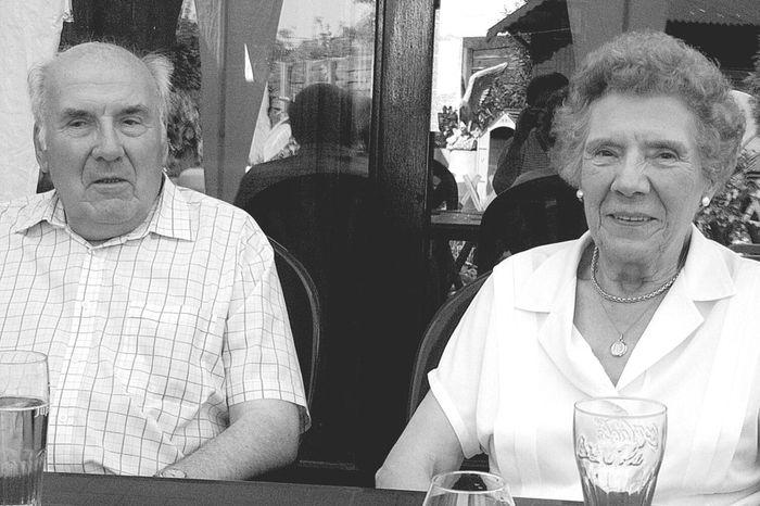 My grandparents, Joris & Marietje. ? Transitional Moments Taking Photos Hello World