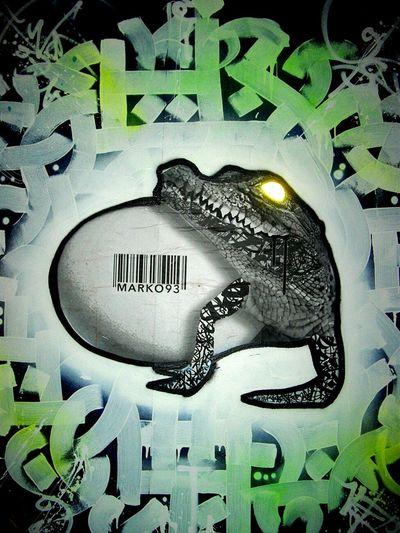 Wynwood Streetart Painting Crocodile Marko93 Miami Wynwood Art Miami Wynwood Walls