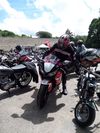 Arriving At Bikemeety. Cloud - Sky Day Incidental People. Many Motorcycles. Mode Of Transport Motorcycle Motorcycles One Motorcycle Rider. One Person. One Personality. One Heart One Rider. Outdoors Parking Sky Stationary Transportation