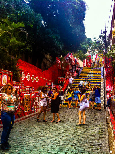 November 2014. Brazil! Saudades... Arts Culture And Entertainment Celebration City Life Crowd Culture Cultures IPhone 4 IPhoneography Large Group Of People Leisure Activity Lifestyles Men Night Real People Religion Street Togetherness Walking Women