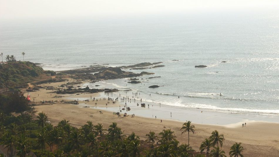 Goa Scenics Landscape Beauty In Nature Aerial View Outdoors Water Sky Beach Life Beachphotography Beauty In Nature