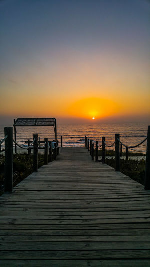 Sunset Sea Beach Horizon Over Water Outdoors Water Nature Beauty In Nature Portugal Perfection Almograve Beach Nature Beauty In Nature Tranquil Scene