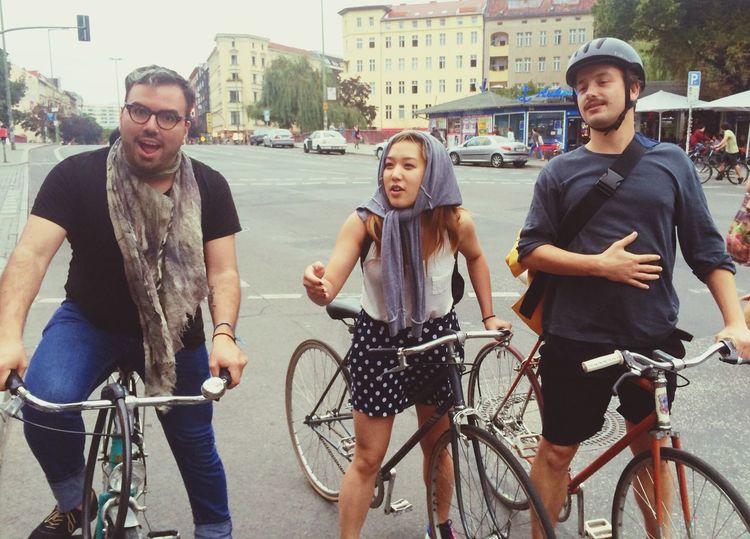 Berlin bikers