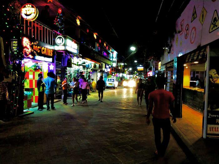 City Neon Crowd