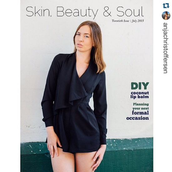 Covershot of @anjachristoffersen in Skin, Beauty & Soul magazine - outstanding Anja . ・・・ So astounded to be Skin, Beauty & Soul magazine's cover girl for my birthday month! Also part of a feature inside, so take a look http://pub.lucidpress.com/July2015/ 👀 A HUGE thank you to the amazing photographer of the image @jkdimagery - your support and brilliant photography really couldn't be more appreciated - and of course my agency @mystiquemodels for giving me endless opportunities, time and loving support 🌟💗 Fashion Highfashion Skinbeauty &soul Magazine Cover Covergirl Mystiquemodelmanagement Jkdimagery Model Love Happy