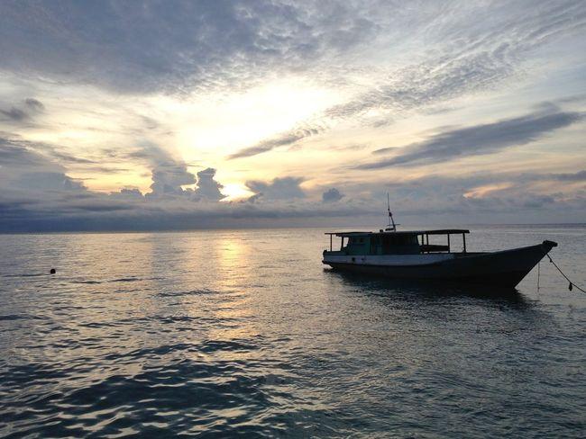 Sunrise Derawanisland  Eastkalimantan  INDONESIA
