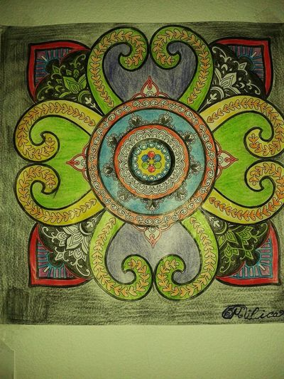 Coloring Mandalas!