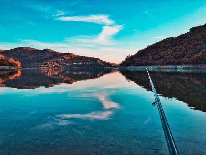 Water Scenics Tranquil Scene Beauty In Nature Mountain Nature Tranquility Idyllic Sky Day No People Outdoors River Blue Mountain Range Travel Destinations Landscape PRISHTINA Kosovo Perspectives On Nature The Great Outdoors - 2018 EyeEm Awards