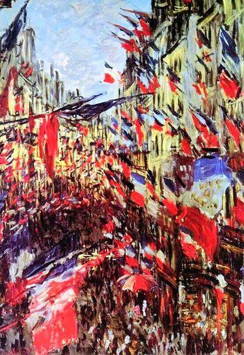 Quand on a que l'Amour... Claude Monet Reproduction